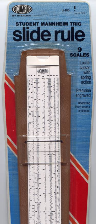 Eric S Miscellaneous Slide Rules
